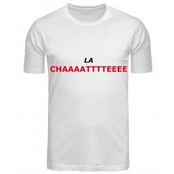 T-SHIRT LA CHATTE BLANC