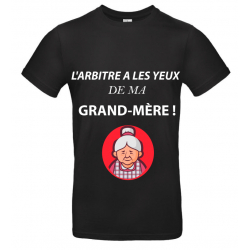 T-SHIRT GRAND-MÈRE NOIR