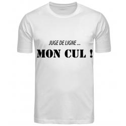 T-SHIRT MON CUL BLANC