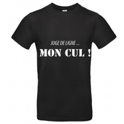 T-SHIRT MON CUL NOIR