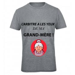 T-SHIRT GRAND-MÈRE GRIS
