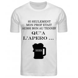 T-SHIRT APERO BLANC