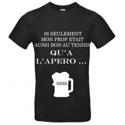 T-SHIRT APERO NOIR
