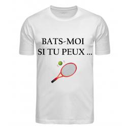 T-SHIRT BATS MOI BLANC