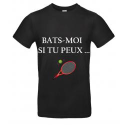 T-SHIRT BATS MOI NOIR