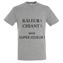 T-SHIRT RALEUR GRIS