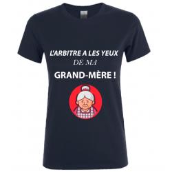 T-SHIRT GRAND MERE NOIR