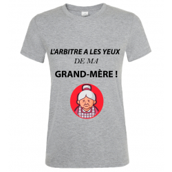 T-SHIRT GRAND MERE GRIS