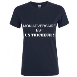 T-SHIRT TRICHEUR NOIR