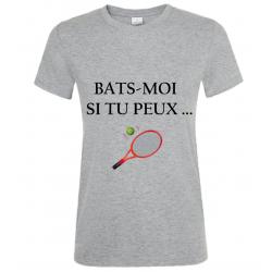 T-SHIRT BATS MOI GRIS