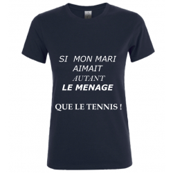 T-SHIRT MENAGE NOIR