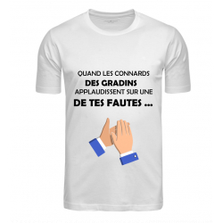 T-SHIRT GRADINS BLANC JUNIOR