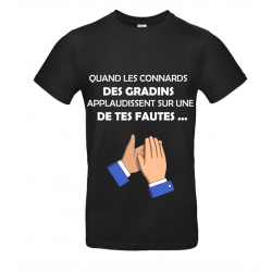 T-SHIRT GRADINS NOIR JUNIOR
