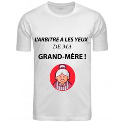 T-SHIRT GRAND MÈRE BLANC...