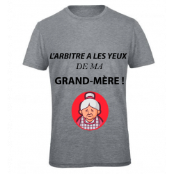 T-SHIRT GRAND MÈRE GRIS JUNIOR