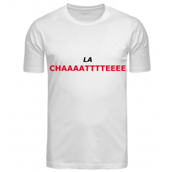 T-SHIRT LA CHATTE BLANC JUNIOR