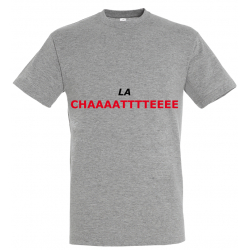 T-SHIRT LACHATTE GRIS JUNIOR