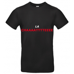 T-SHIRT LACHATTE NOIR JUNIOR