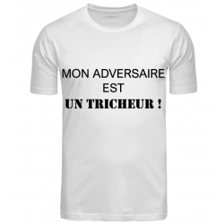 T-SHIRT TRICHEUR BLANC JUNIOR