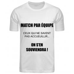 T-SHIRT MATCH PAR ÉQUIPE...