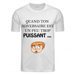 T-SHIRT ADVERSAIRE PUISSANT...