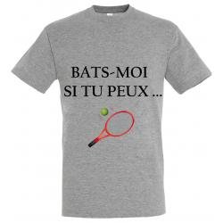 T-SHIRT BATS MOI GRIS JUNIOR