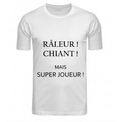 T-SHIRT RALEUR BLANC JUNIOR