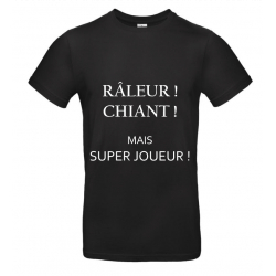 T-SHIRT RALEUR NOIR JUNIOR