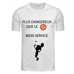 T-SHIRT SERVICE BLANC JUNIOR