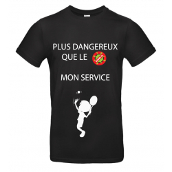 T-SHIRT SERVICE NOIR JUNIOR