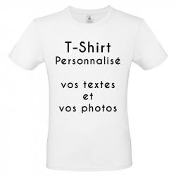 T-SHIRT COTON PERSONNALISABLE