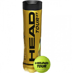 TUBE DE 4 BALLES HEAD TOUR XT
