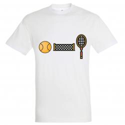 T-SHIRT COURT DE TENNIS