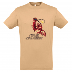 T-SHIRT HOMME GRIZZLY