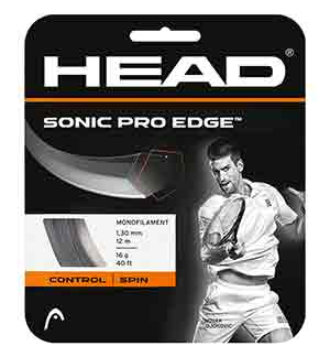 CORDAGE HEAD SONIC PRO EDGE 1.30MM 12M
