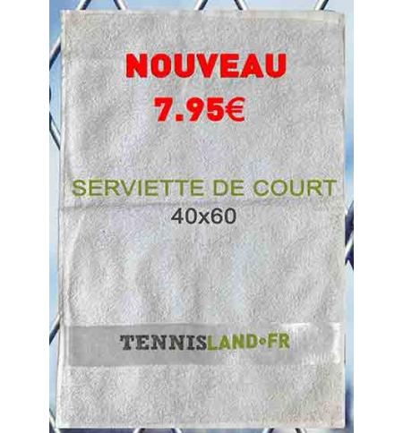 SERVIETTE DE COURT TENNISLAND