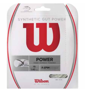 CORDAGE WILSON SYNTHETIC GUT POWER
