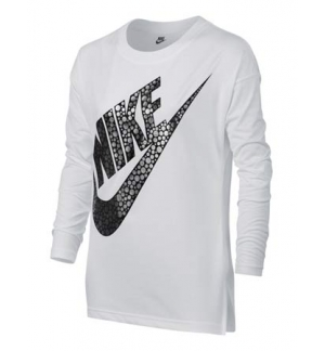 T-SHIRT NIKE MANCHES LONGUES GRAPHIC FILLES