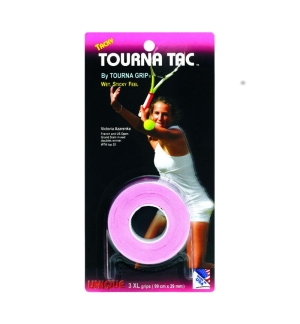 SURGRIP TOURNA TAC X3 BLANC/ROSE