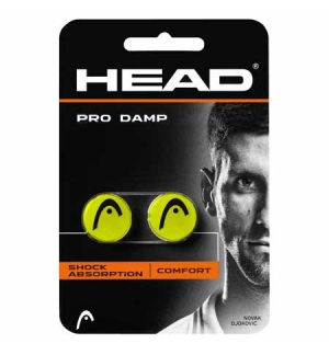 ANTIVIBRATEUR HEAD PRO DAMP JAUNE/ROSE
