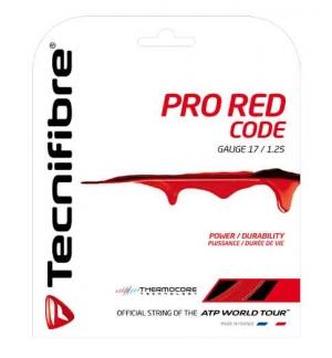 CORDAGE TECNIFIBRE PRO RED CODE 1.25MM 12M