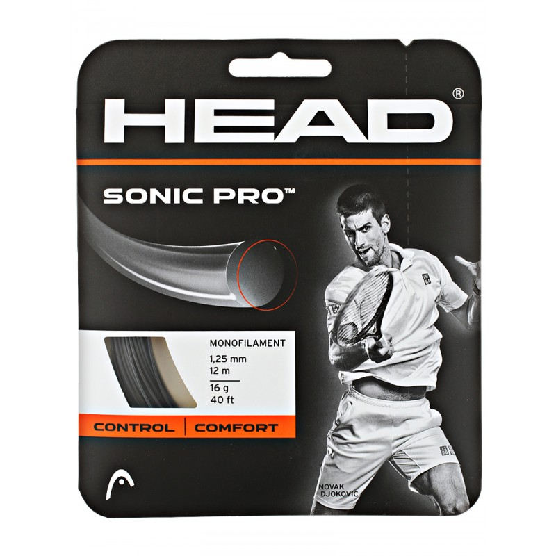 HEAD SONIC PRO NOIR 12M
