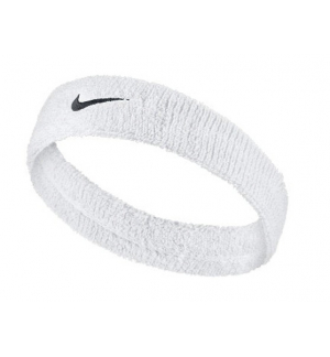 SWOOSH HEADBAND/WHITE
