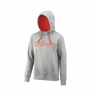SWEAT A CAPUCHE WILSON HEATHER GRIS