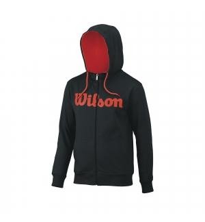 SWEAT WILSON SCRIPT COTON FZ