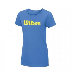 T-SHIRT WILSON SCRIPT COTON F