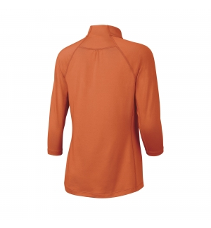 T-SHIRT MANCHES LONGUES WILSON 3 QTR SLEEVE ZIP NECK
