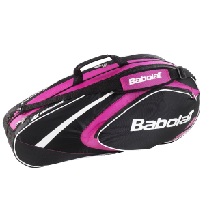 SAC BABOLAT RH6 CLUB LINE ROSE