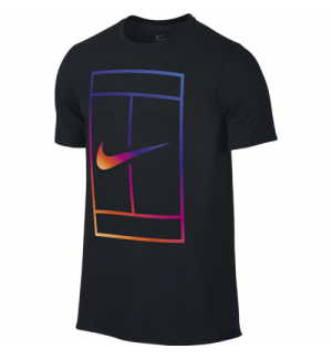 T-SHIRT NIKECOURT IRRIDESCENT TEE