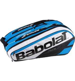 SAC BABOLAT PURE LINE RACKET HOLDER X12 BLEU/BLANC